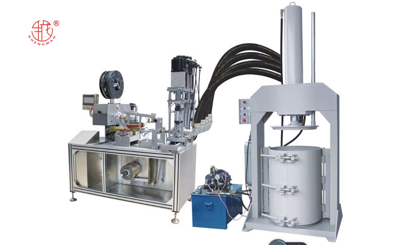 full-automatic silicone adhesive soft-packaged machine