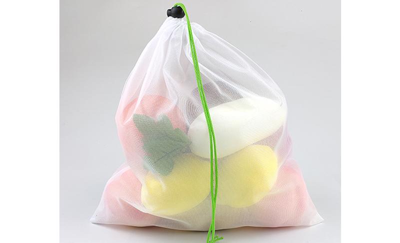 Fruit vegetable mesh bag